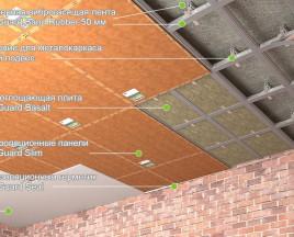 СГ потолок эконом